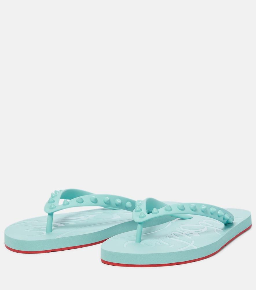 CHRISTIAN LOUBOUTIN Sandals Loubi Flip thong sandals