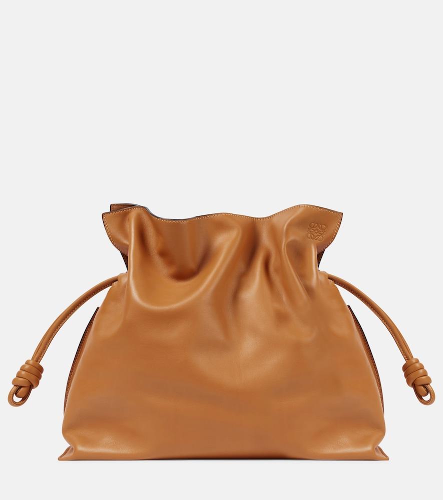 Flamenco XL leather shoulder bag