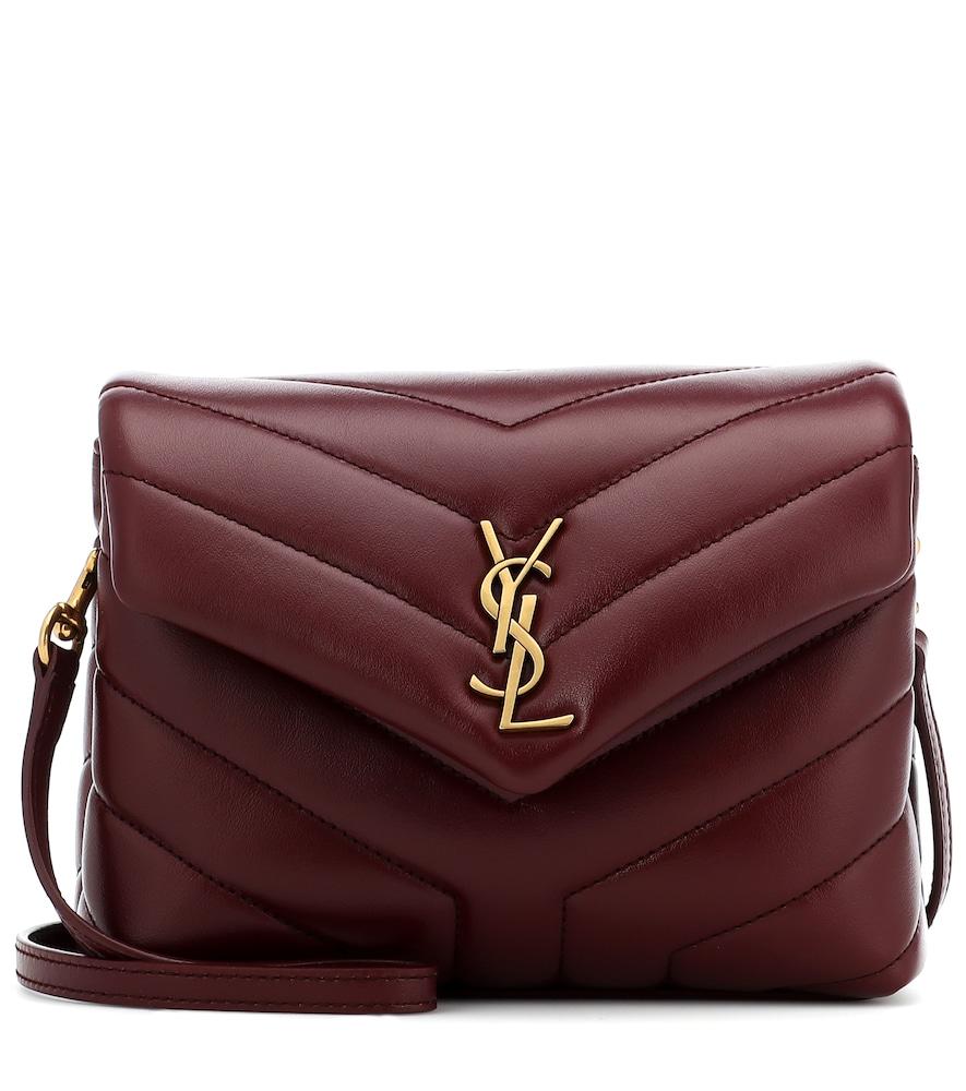 SAINT LAURENT | Toy Loulou Leather Shoulder Bag | Goxip