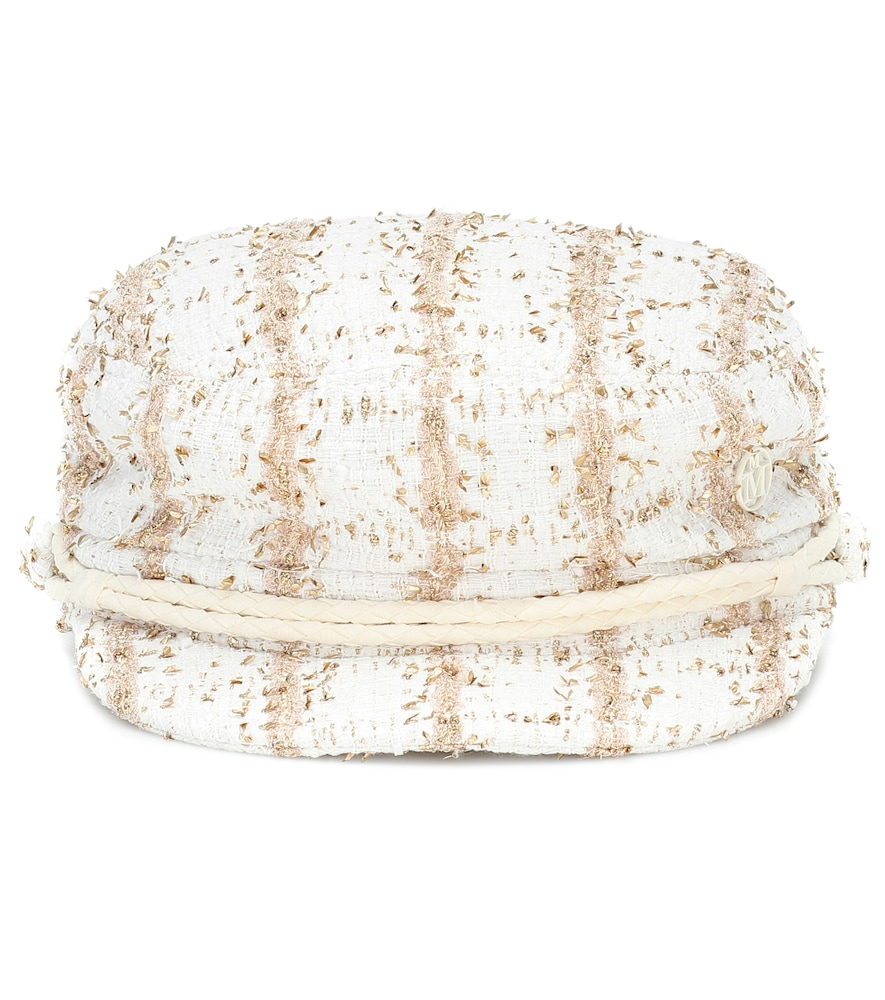 Exclusivité Mytheresa – Casquette New Abby en tweed - Maison Michel - Modalova