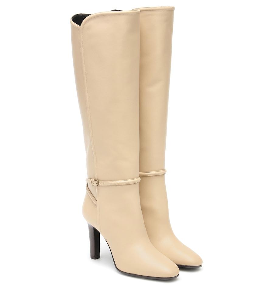 Saint Laurent High heels JANE LEATHER KNEE-HIGH BOOTS