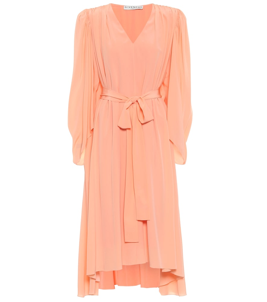 Robe midi en crêpe de soie - Givenchy - Modalova