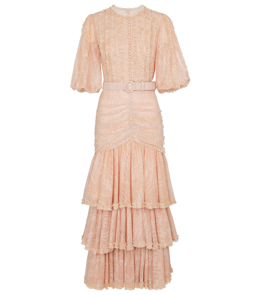 Jeanisse chantilly lace gown