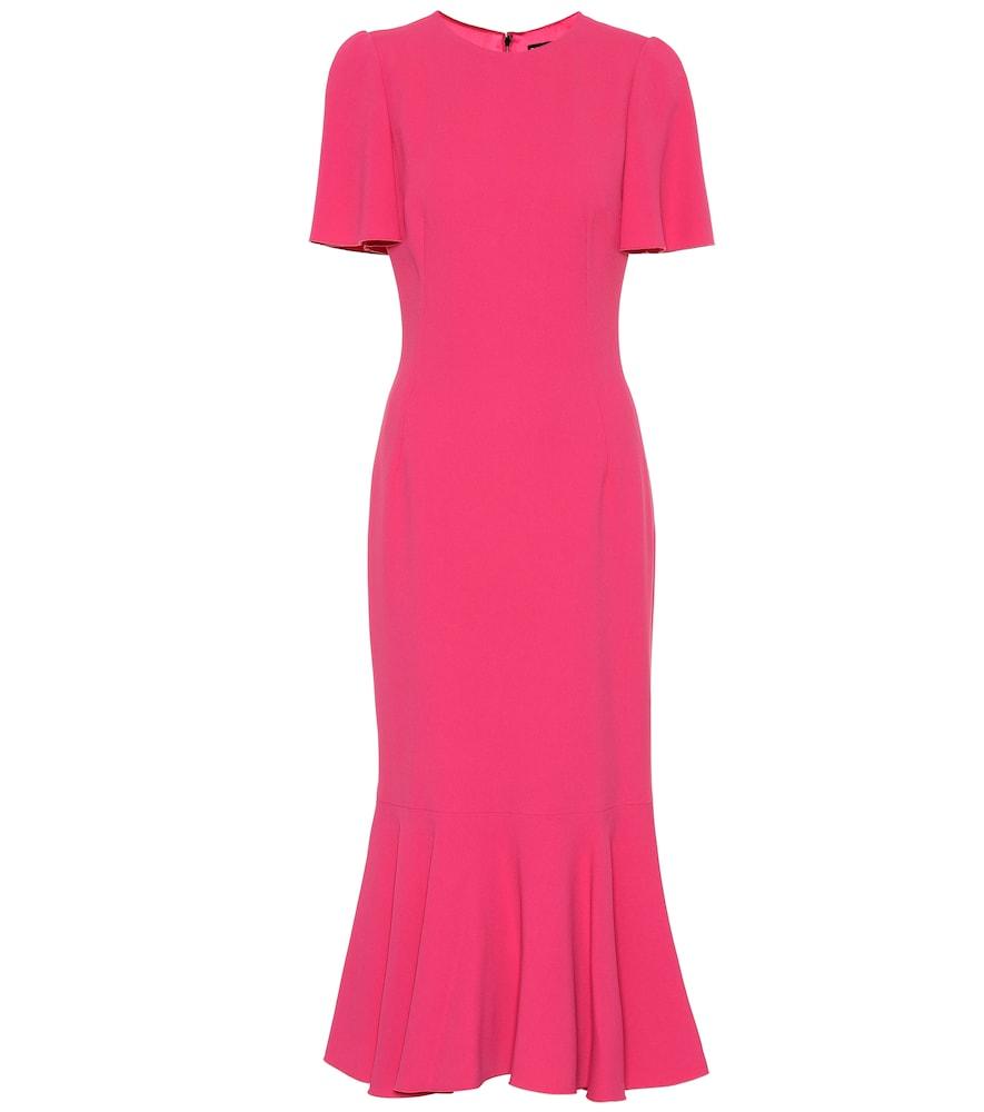 Flounce Midi Dress