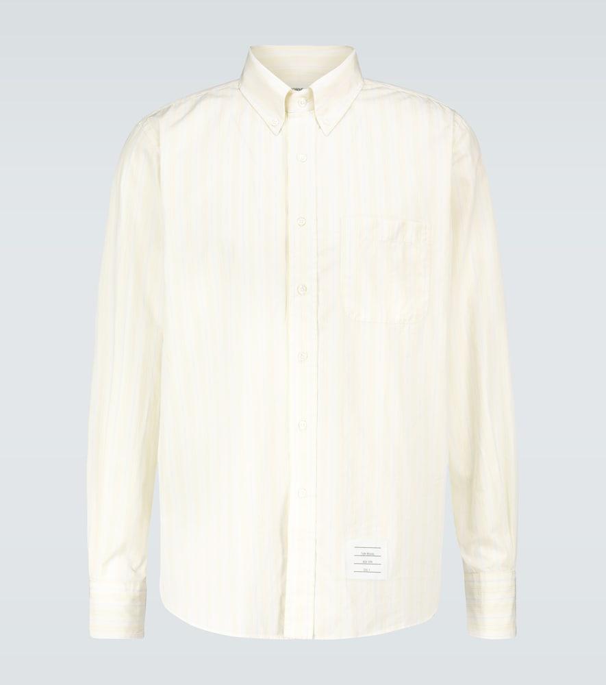 Chemise rayée en coton - Thom Browne - Modalova