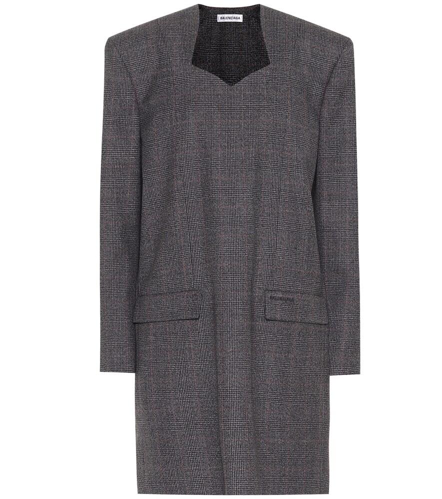 Robe en laine vierge - Balenciaga - Modalova