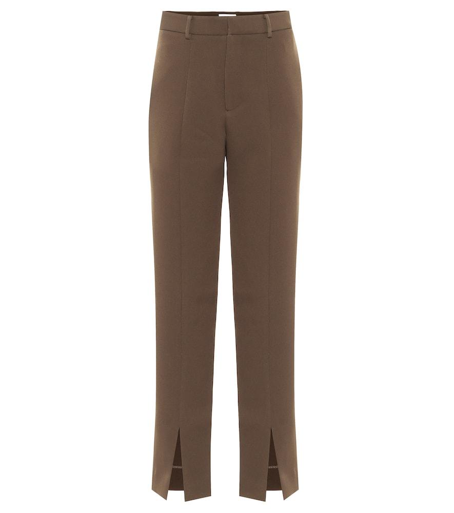 Piper high-rise slim pants