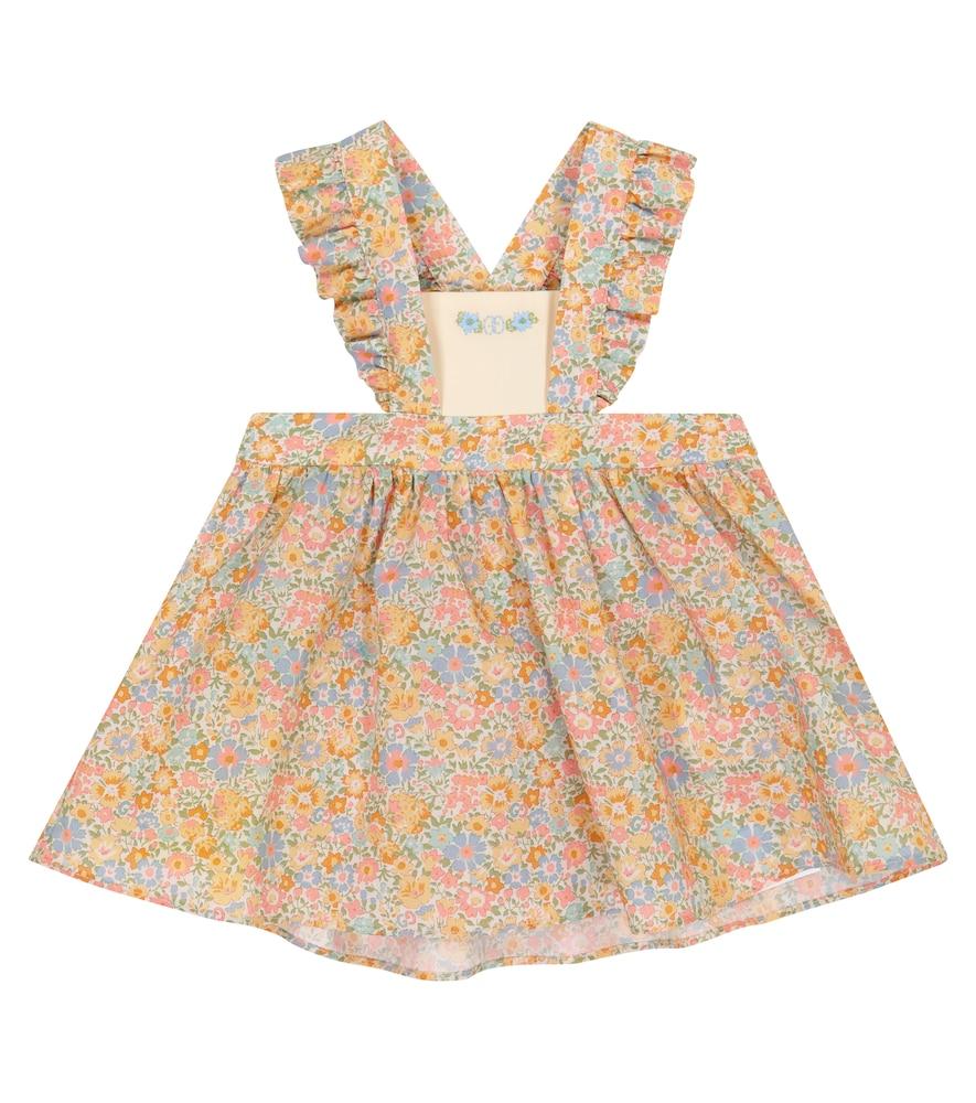 Gucci Dresses BABY LIBERTY FLORAL COTTON DRESS