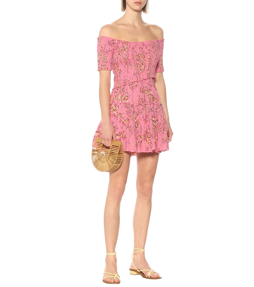 Exclusive to Mytheresa - Soledad floral minidress by Poupette St Barth