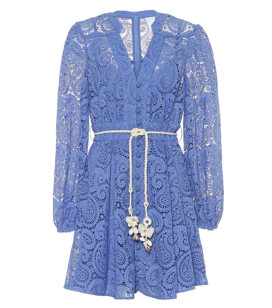 Exclusive to Mytheresa - Broderie-anglaise minidress