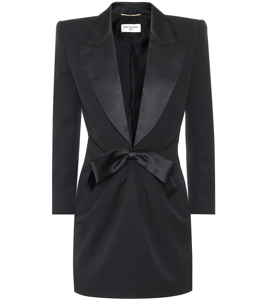 Robe en laine - Saint Laurent - Modalova