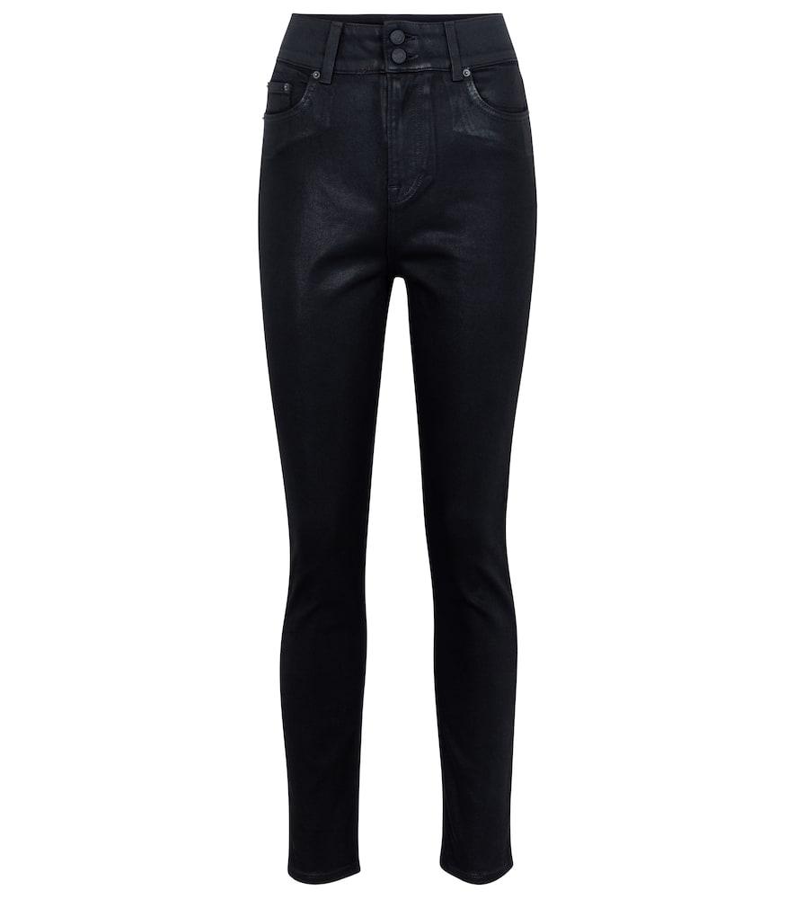 Oriana high-rise slim jeans