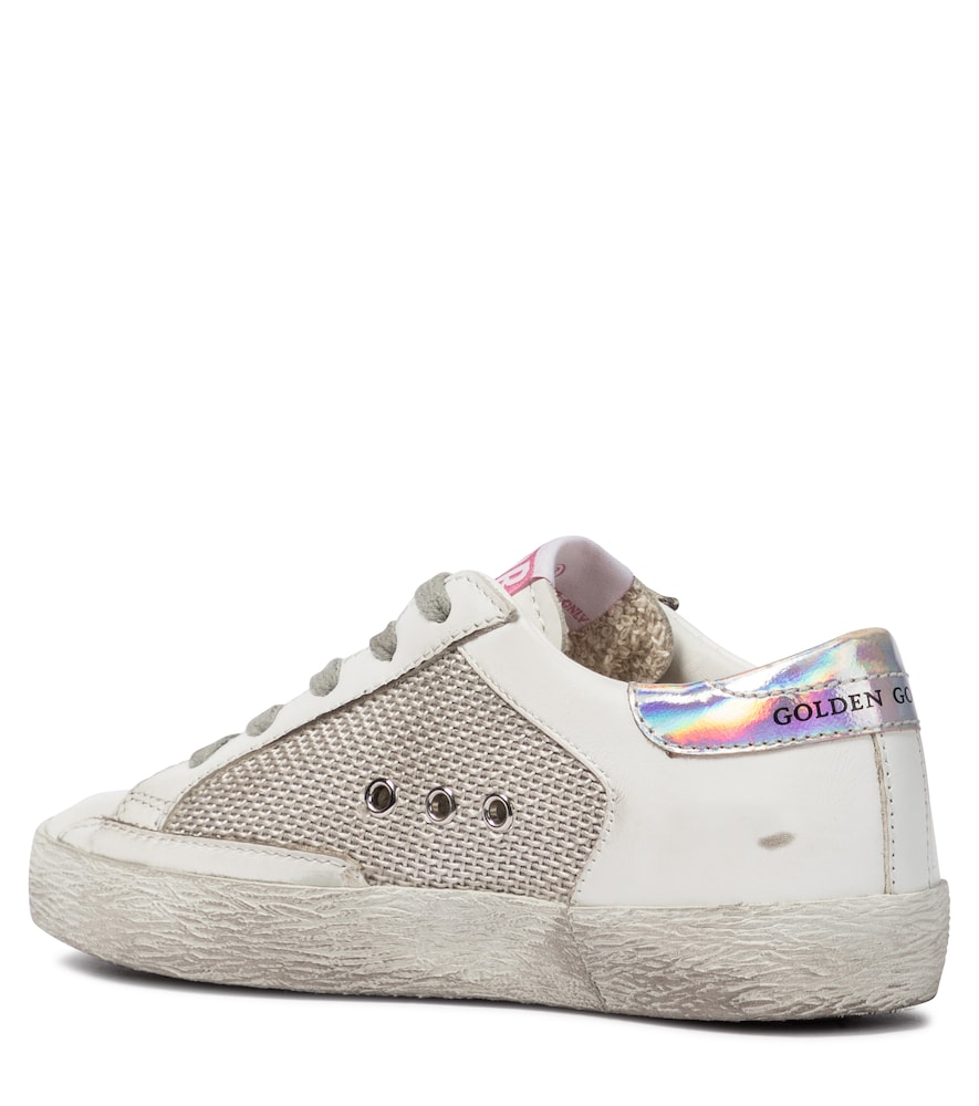 GOLDEN GOOSE Leathers SUPERSTAR LEATHER SNEAKERS