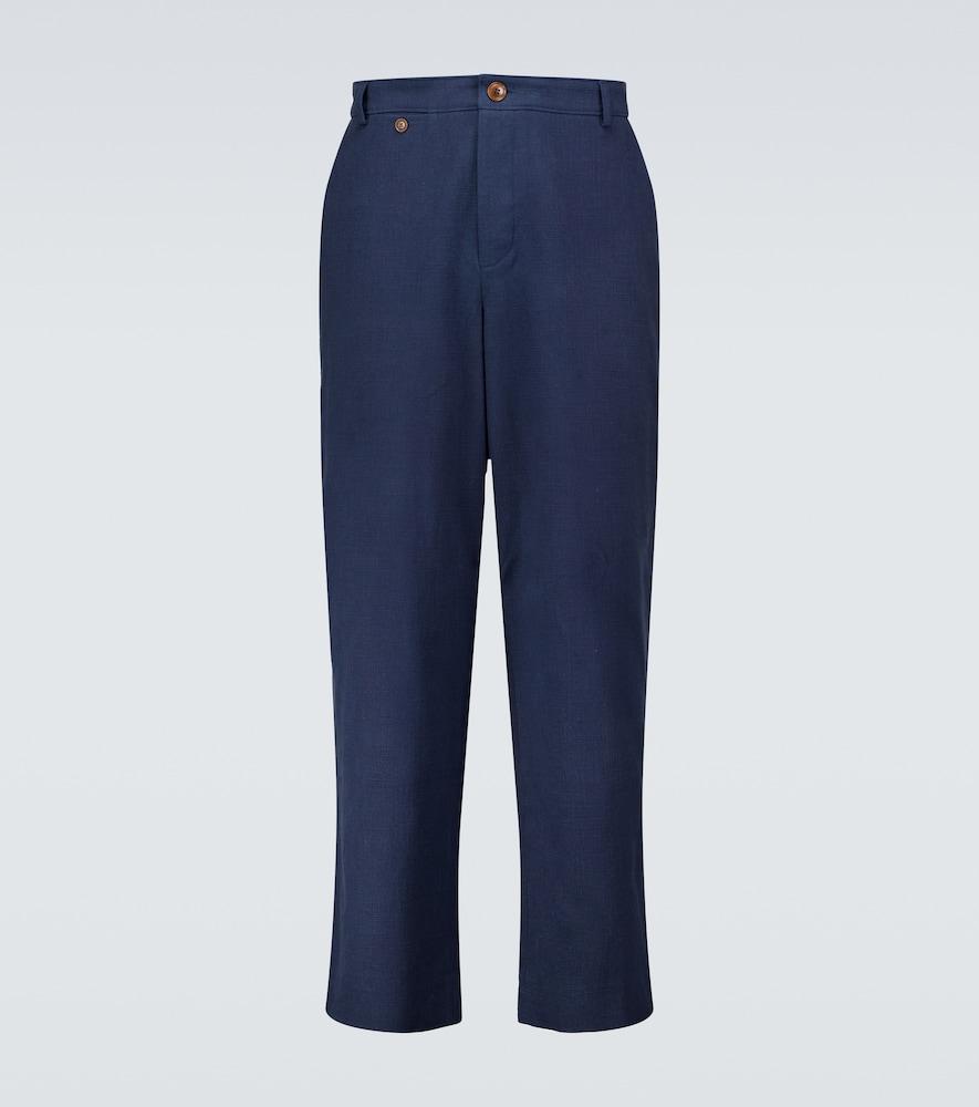 Loose-fit chino pants