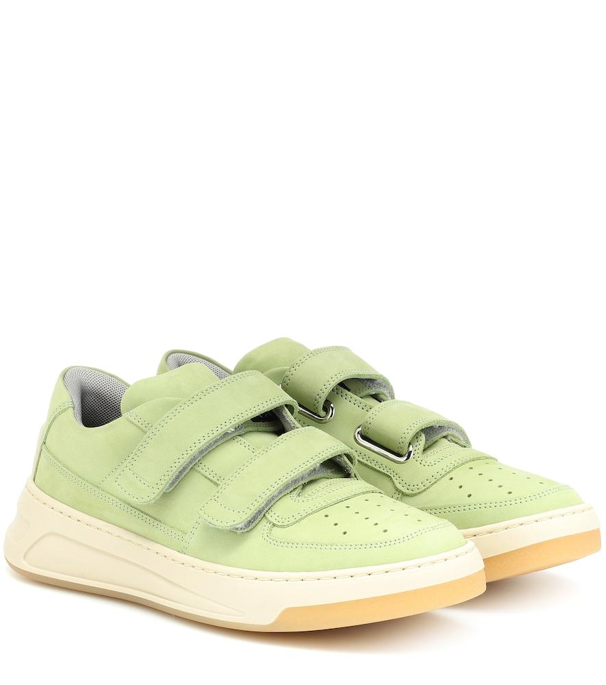 ACNE STUDIOS | Steffey Nubuck Leather Sneakers | Goxip
