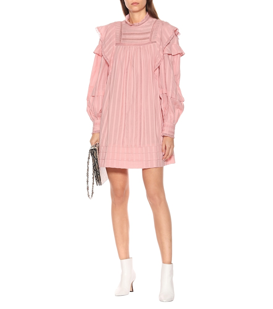 Patsy striped voile minidress by Isabel Marant, Étoile