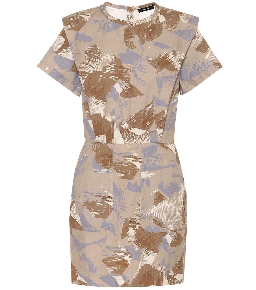 Exclusive to Mytheresa – Ilesa cotton and linen minidress by Isabel Marant