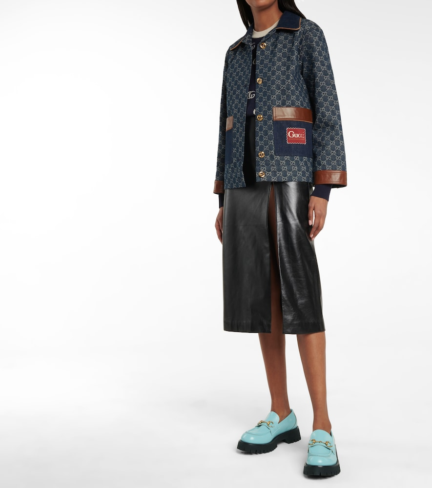 GUCCI Leathers HORSEBIT LEATHER LOAFERS