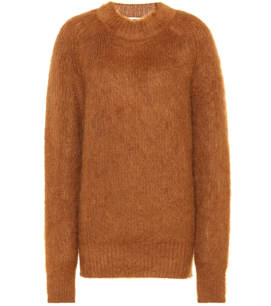 MOHAIR AND SILK SWEATER