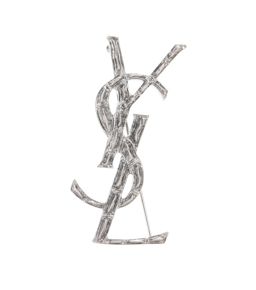 Opyum Ysl Engraved Brooch in Female