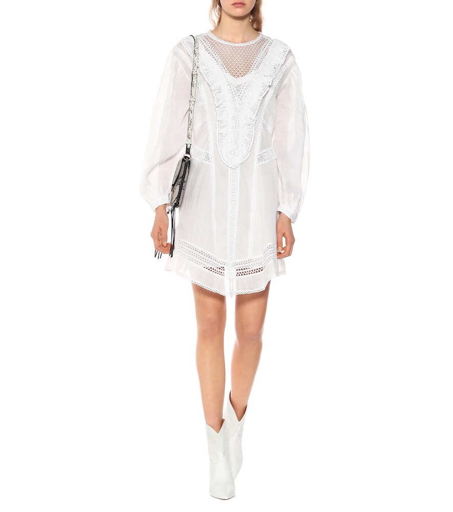 Rowina ramie minidress by Isabel Marant