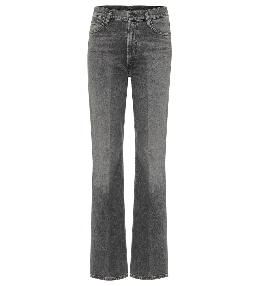 The Comfort high-rise bootcut jeans