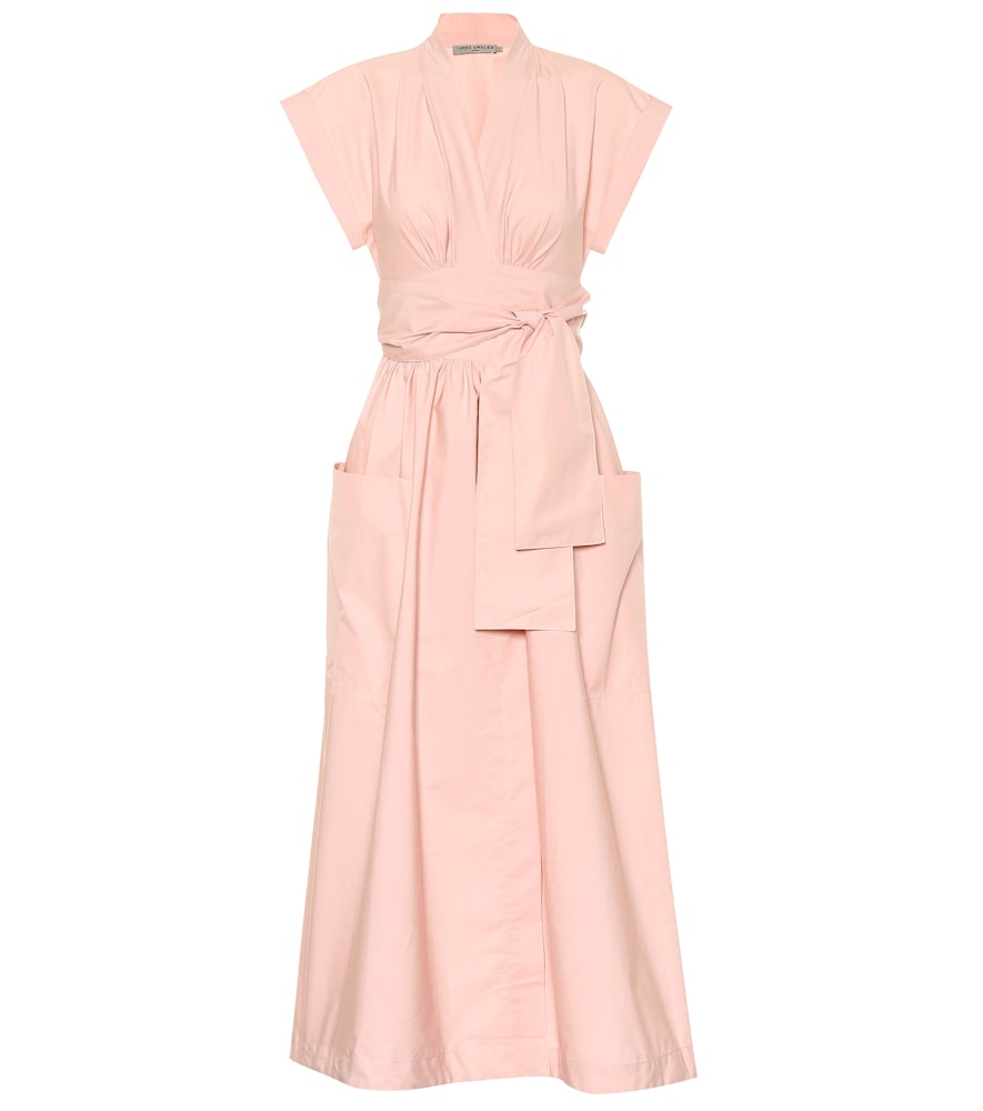 THREE GRACES LONDON Cotton Dress in Pink