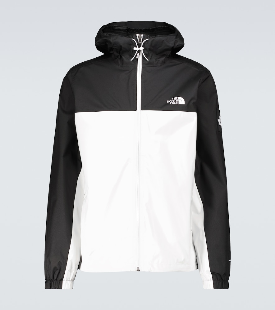 The North Face Insulated Mountain Q Jacket In Light Gray In Black