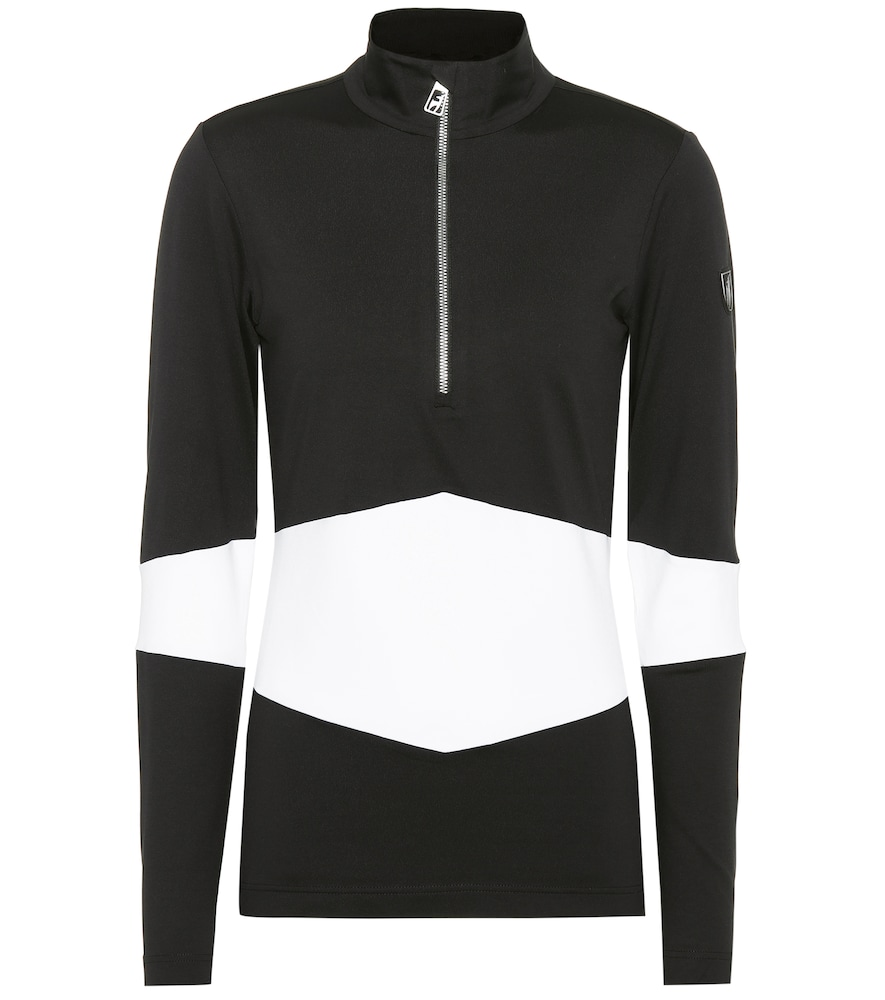 TONI SAILER Luna Jersey Ski Top in Black