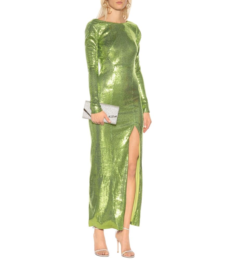 Adela sequined gown by Galvan