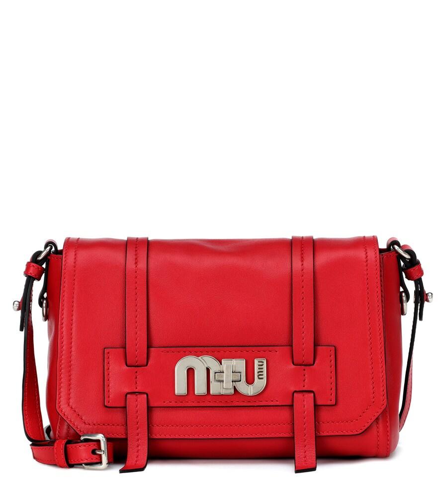 Grace Logo Shoulder Bag In Red