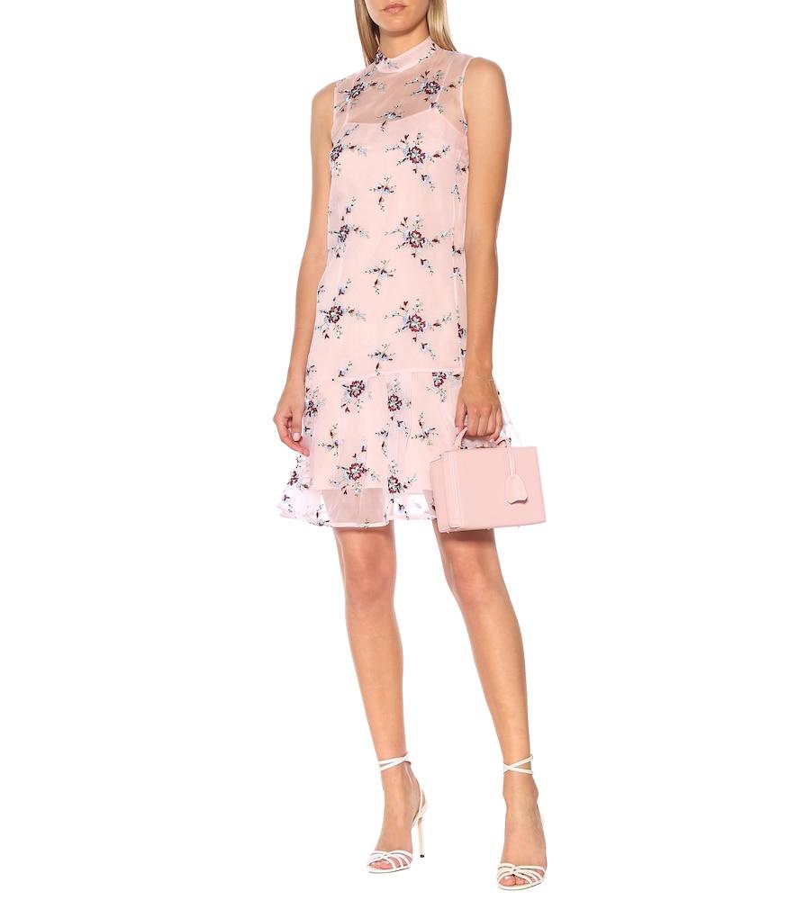 Exclusive to Mytheresa - Nena floral organza minidress by Erdem