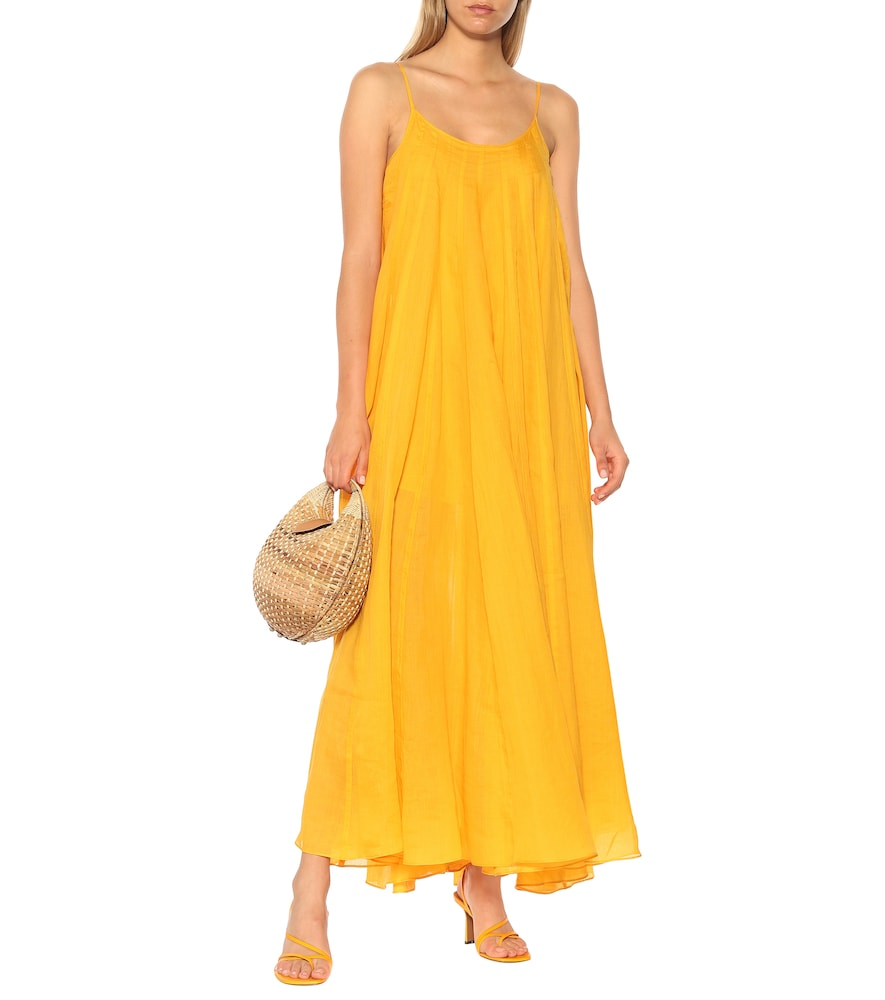Mabelle ramie maxi dress by Three Graces London
