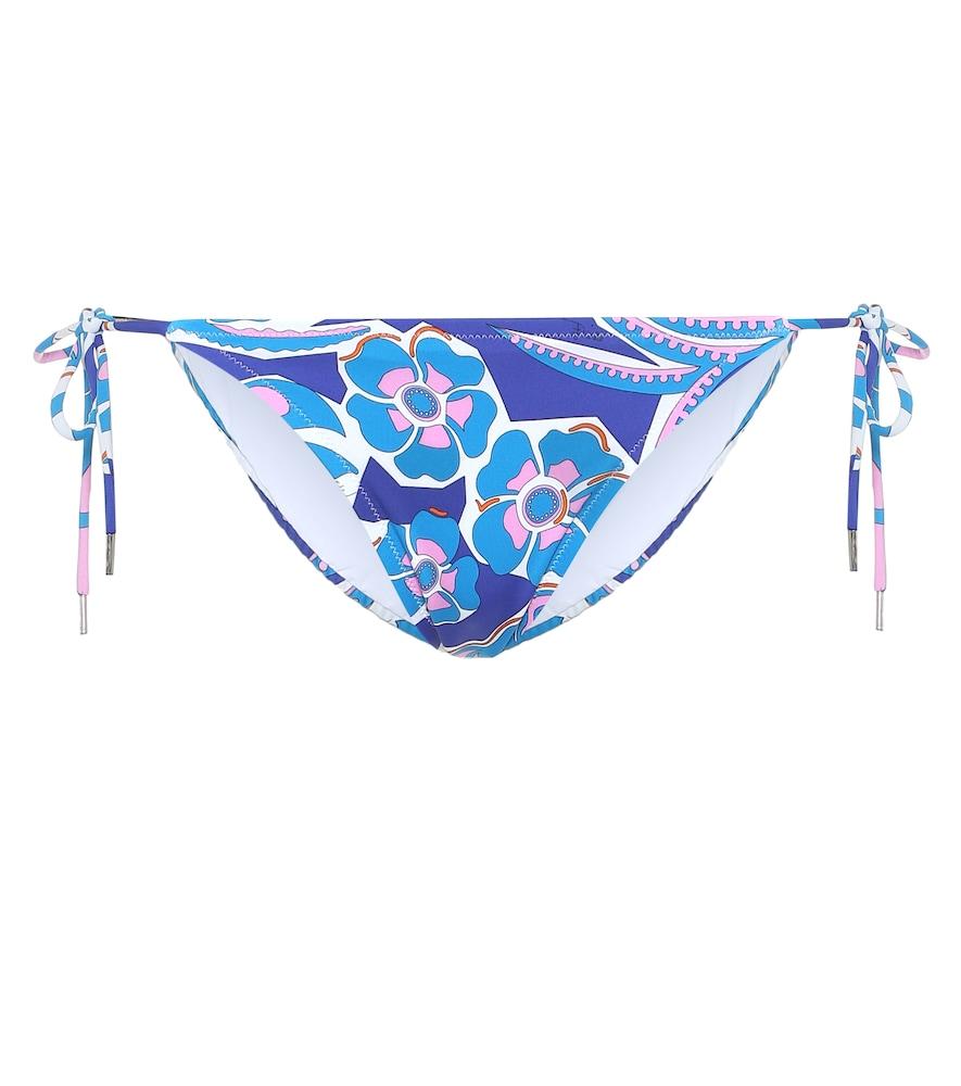 Culotte de bikini imprimée