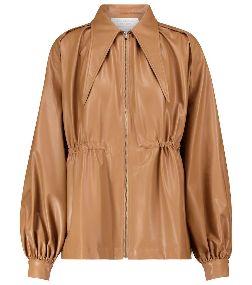 Ari faux leather jacket