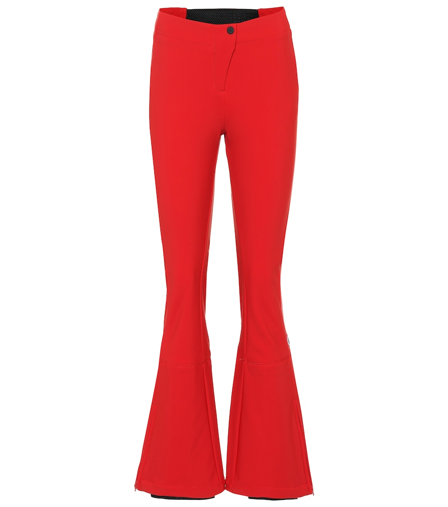 FUSALP Tipi Ii Flared Ski Pants in Red