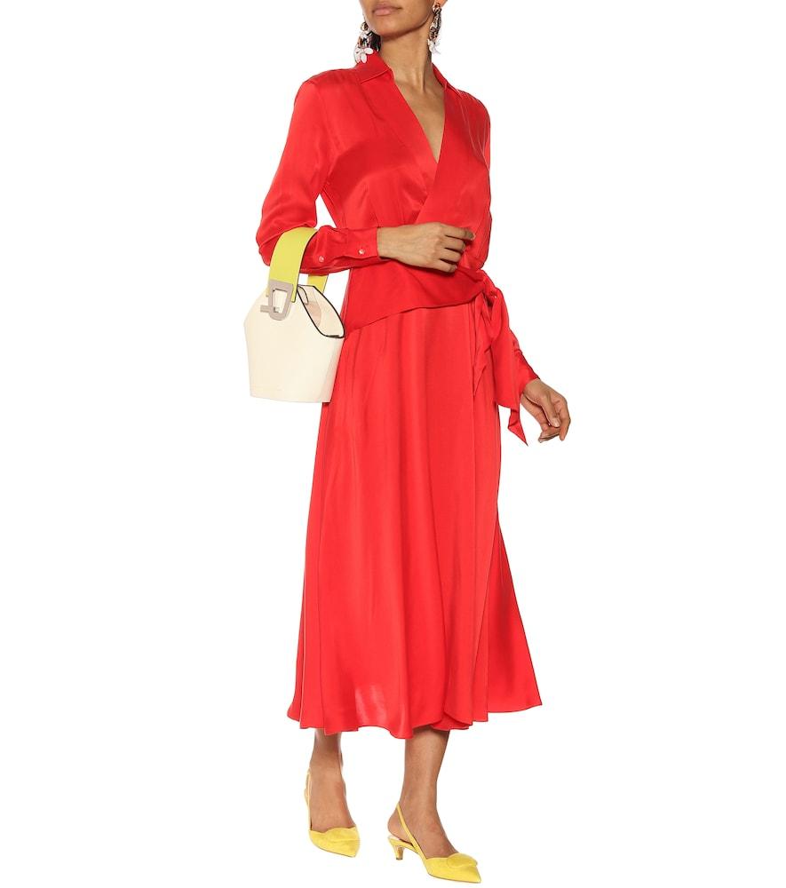 Vivienne silk-blend dress by Equipment