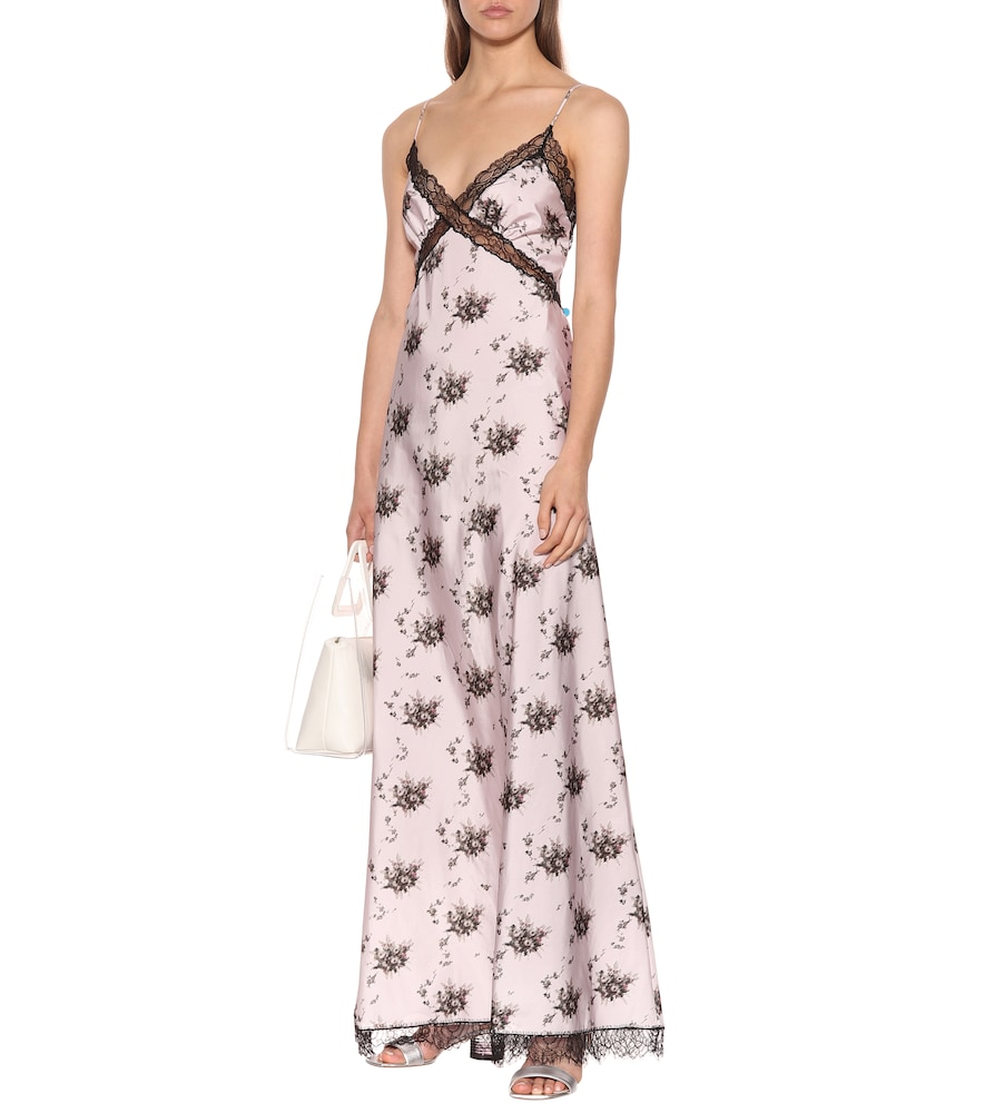Onorina floral maxi slip dress by Brock Collection