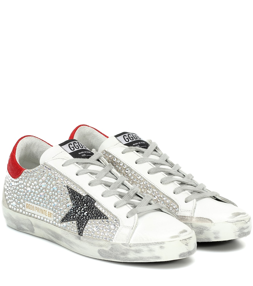 Exclusive to Mytheresa - Superstar embellished sneakers