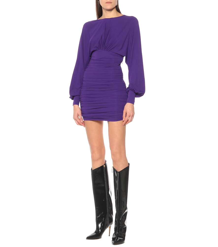 Exclusive to Mytheresa - Stretch-jersey minidress by Alexandre Vauthier