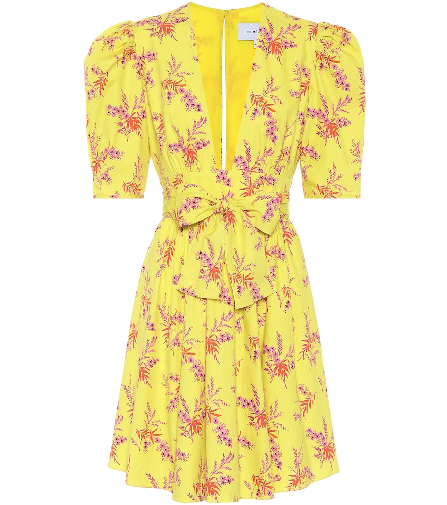 Exclusivité Mytheresa – Robe en coton à fleurs