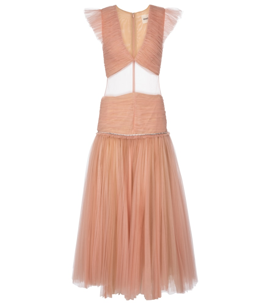 Mariah tulle gown by KHAITE