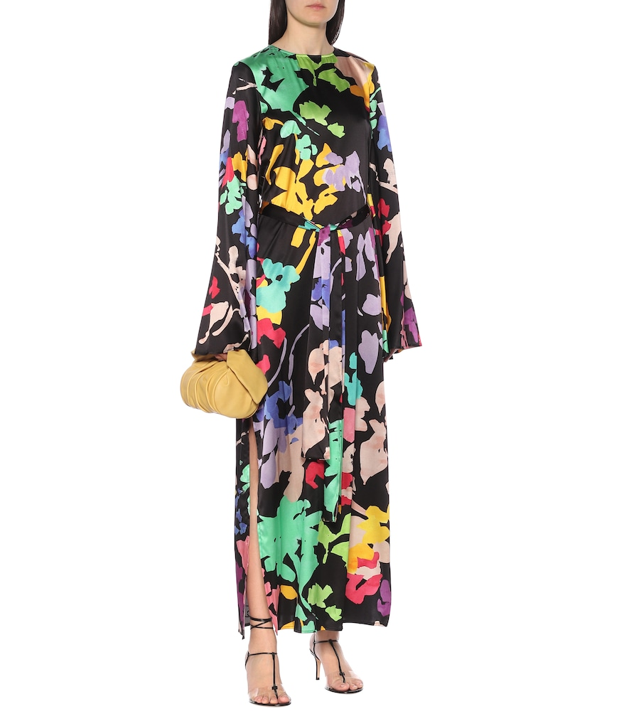 Lilliana floral stretch-silk dress by Caroline Constas