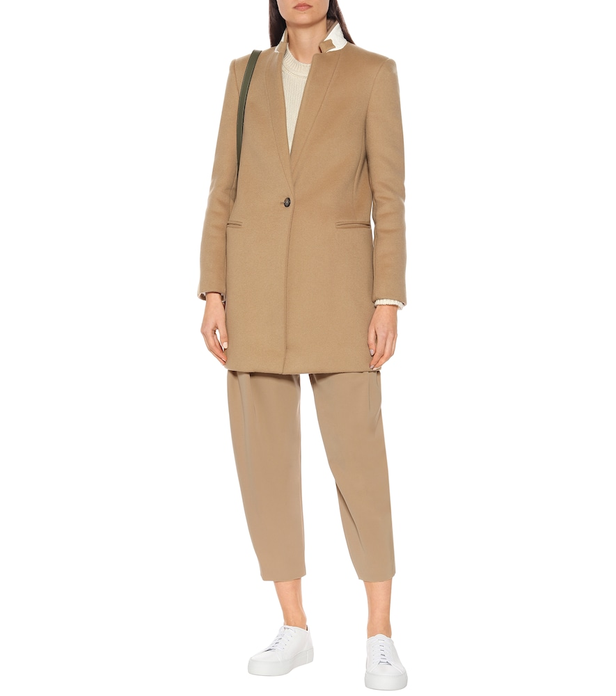 Bryce wool-blend coat by Stella McCartney