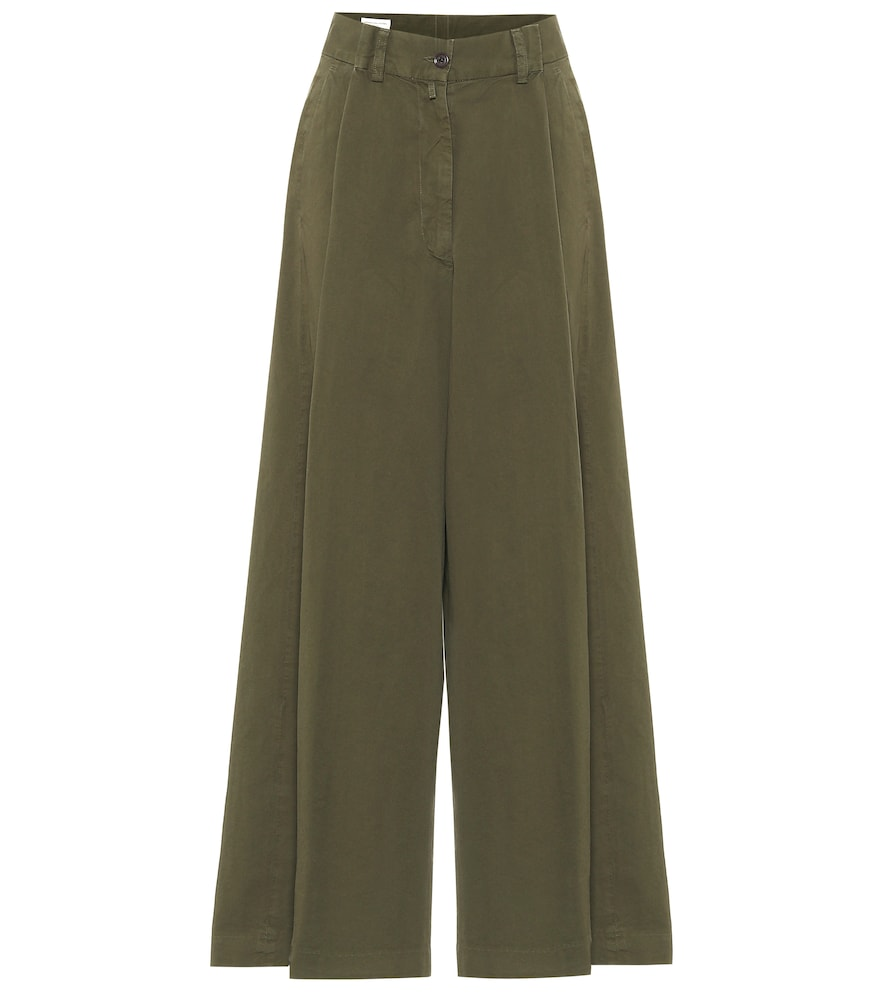 Pantalon ample en coton - Dries Van Noten - Modalova