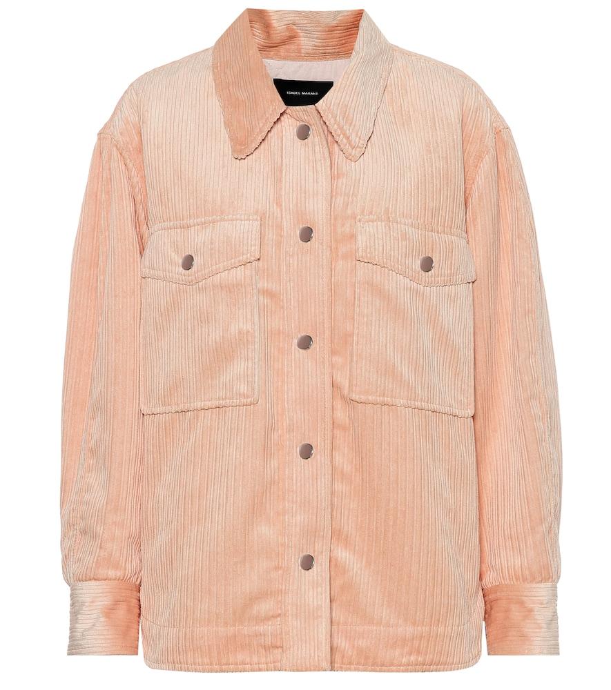Marvey corduroy jacket by Isabel Marant