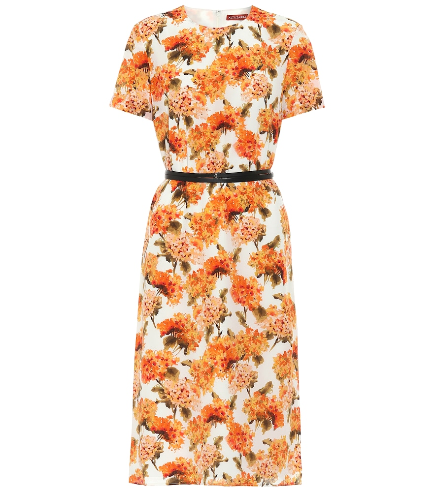Exclusive to Mytheresa - Coco floral silk midi dress