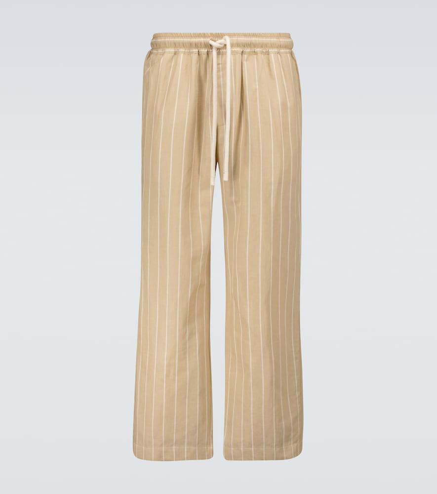Ottoman striped lounge pants