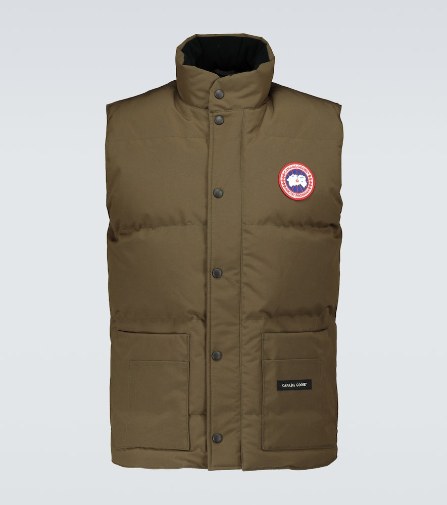 Canada Goose Freestyle Padded Bodywarmer In Green