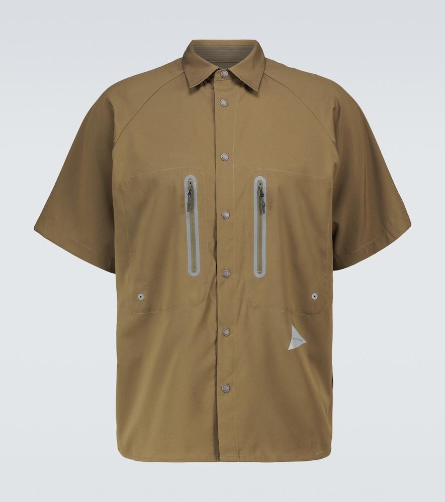 Technical short-sleeved shirt